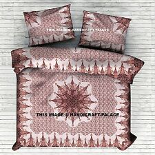 Urban Outfitters Mandala Duvet Cover Indian Comforter Set Boho Queen Quilt Cover