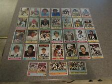 TOPPS! - 1974, Set of 31, NFL, Football Cards, Loose, Pre-Owned