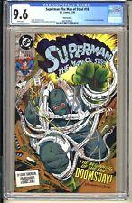SUPERMAN Man of Steel #18 (3rd Print) CGC 9.6 WP NM+ DC Comics 1992 1st Doomsday