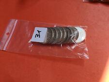 Lot 10 pièces argent 50 Francs Hercule année diverses Lot n° 31