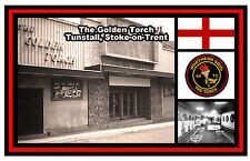 THE GOLDEN TORCH, TUNSTALL, STOKE ON TRENT - NOVELTY SOUVENIR FRIDGE MAGNET
