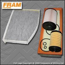 KIT di servizio per VW GOLF MK6 1,6 TDI FRAM Olio Aria Carburante Cabin filtri (2009-2012)