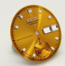 Yellow Resist Dial Vintage SEIKO Chronograph 6139-6005 6139-6007 6139-6009 Pogue