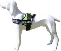 Reflective Dog Vest hunting Service Dog Harness with Removable 2 Patches
