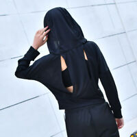 New Long Sleeve hoodies Dry Fit pullover work out crop tops shirts for women