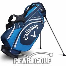 CALLAWAY X SERIES STAND BAG - MODEL 2017 - NAVY/BLUE/WHITE