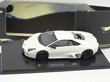 Hot Wheels 1/43 - Lamborghini Reventon Blanche