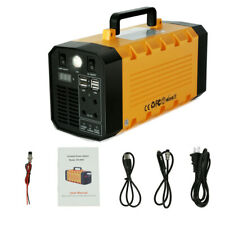 Portable Solar Generator 500W 288Wh Ups Power Station Emergency Battery Usa
