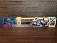 TOMY Plarail Thomas & Friends Series Thomas Trackmaster Train T-1 Rare with Box