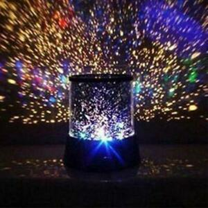 Amazing LED Starry Night Sky Projector Lamp Star Light Cosmos Master Kid Gifts