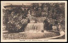 cartolina GIAVENO giardino pubblico-cascata
