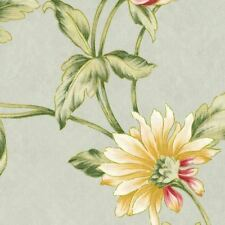 Mill Creek Floral SPA Gold Green Home Decor Cotton Jacquard Drapery Fabric BTY