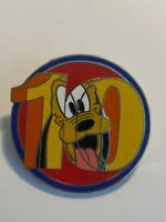 WDW DLR 10 Years Of Disney Pin Trading Mystery Series Pluto Disney Pin LE (B0)