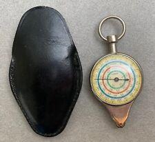 Curvimètre / instrument de mesure mécanique cartes routières—Double face—Vintage