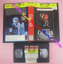 VHS film H.P. LOVE LA CREATURA 1989 Jean Paul Ouellette VIVIVIDEO (F157) no dvd