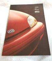 Original 1995 Geo Metro Deluxe Sales Brochure 95
