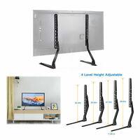 "Universal TV Leg Stand Base Tabletop VESA Pedestal Mount for LCD LED TV 37""-70"""