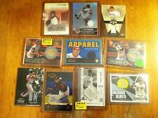 Chicago White Sox Indians Angels of Anaheim baseball card lot game worn auto