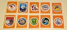 1979 NASL Topps Complete Soccer Set 33 trading stickers cards logos ONE MINT SET