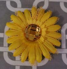 "New listing 4"" Yellow Daisy Dog Collar Flower"