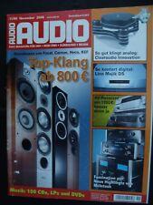 AUDIO 11/08,AUDIOLAB 8000 Q/M, McINTOSH c 220 AC,MC 252 AC,MCD 301 AC, KEF IQ 70