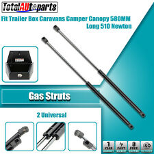 2x 580MM 510N Gas Struts for Caravans Camper Trailers Canopy Toolboxes Cabinets