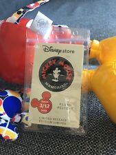 Disney Mickey Mouse Memories Plush Tag Protector January, Feb, March, April, May