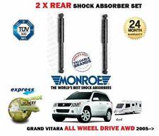 FOR SUZUKI GRAND VITARA AWD MODELS 2005-> 2X REAR SHOCK ABSORBER SET