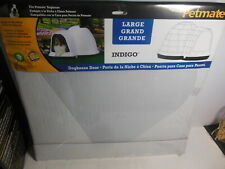 Indigo Large Door Flap Fits Petmate Dog House New Clear Plastic