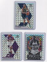 2019-20 Panini Mosaic Silver Wave SP 3 Card Lot TJ Warren Stoudemire Limited