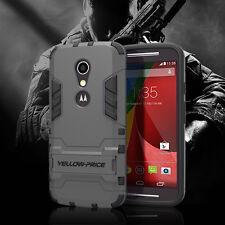 For Motorola Moto G 2nd Gen 2014 EXT Hybrid Impact Armor Hard SKin Case Cover