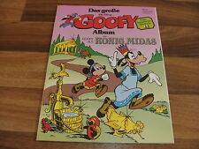 GROßE GOOFY-ALBUM  11 -- GOOFY als KÖNIG MIDAS/komische Historie von Walt Disney