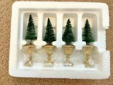 Department 56 - Potted Topiaries Set of 4