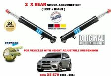 FOR BMW X5 E70 + XDRIVE 2006-2013  2X REAR HEIGHT ADJUSTABLE SHOCK ABSORBER SET