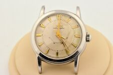 VINTAGE ZODIAC AUTOGRAPHIC POWER RESERVE AUTOMATIC STAINLESS STEEL WATCH