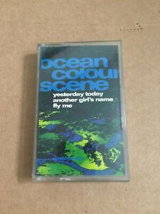 Ocean Colour Scene Yesterday Today cassette tape ep vgc