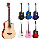 38 Inch Acoustic Guitar for Beginners Entry-level Practice Student Guitar