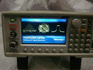 Tektronix TSG4104A 4 GHz RF Signal Generator GPIB w/factory calibration 02/2020