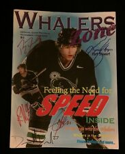 2001/02 Plymouth Whalers Team Signed Game Program Damian Surma