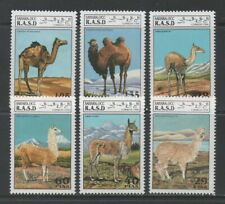 Thematic Stamps Animals - SAHARA 1994 CAMELS/LAMAS 6v mint