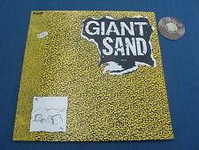 2 LP Giant Sand Giant Sandwich + insert W. Lyrics UK 1989 | EX