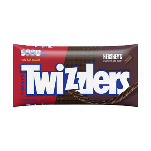 Pack Of 6 Twizzlers Twists Chocolate Flavored Licorice Candy 12 Ounce