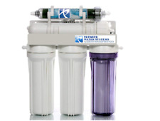 Aquarium Reef Reverse Osmosis Water Filtration 50 GPD | 5 Stage RO/DI SYSTEM