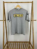 VTG Ethnies Skateboard Skate Short Sleeve Gray T-Shirt Size M USA