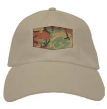 Camo Patch Dad hat (Tan)