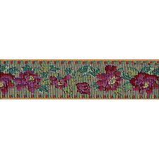 "1.1/2"" (38mm) Floral Tapestry Jacquard Ribbon x 1 yard"