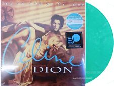 Celine Dion LP X 2 The Colour of My Love Turquoise Vinyl 25th Anniversary in Sto