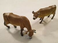 ELC Rubber Cow Figures Toys Models El Bull and El Standing Cow Made in China 5""