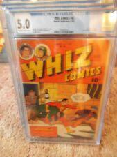 whiz comics 65 cgc 5.0