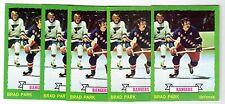 1X BRAD PARK 1973 74 Topps #165 NRMT Lots Available NY Rangers